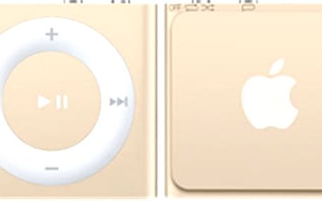 Apple iPod shuffle - 2GB, zlatá, 4th gen. - MKM92HC/A
