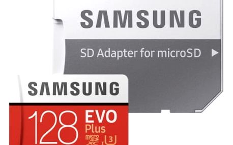 Paměťová karta Samsung 128GB UHS-I U3 (100R/90W) + adapter (MB-MC128GA/EU)