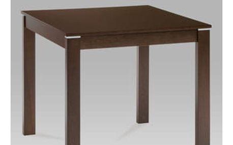 Jídelní stůl BT-6788 WAL 80x80 cm - ořech