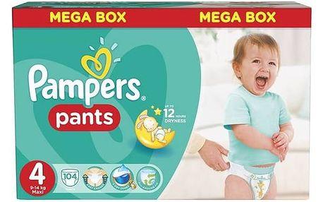 Pampers Mega Box vel. 4, 104ks