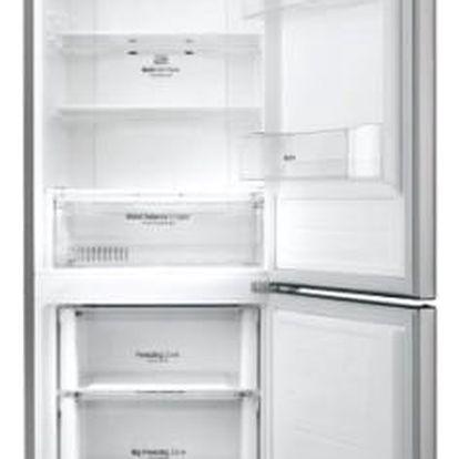 Kombinace chladničky s mrazničkou LG GBB59PZJZS nerez