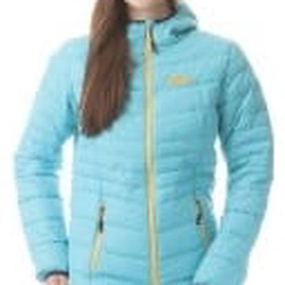 Dámská bunda Nordblanc podzim/zima tyrkysová