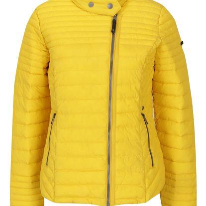 Žlutá dámská prošívaná bunda Garcia Jeans