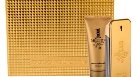 Paco Rabanne 1 Million dárková kazeta pro muže toaletní voda 100 ml + sprchový gel 100 ml
