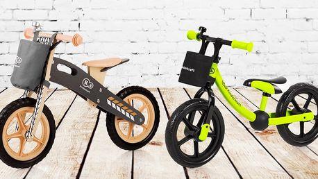 Dětská odrážedla Kinderkraft pro radost z jízdy