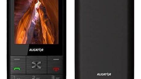 Mobilní telefon Aligator D920 Dual SIM (AD920BS) černý Software F-Secure SAFE 6 měsíců pro 3 zařízení (zdarma)