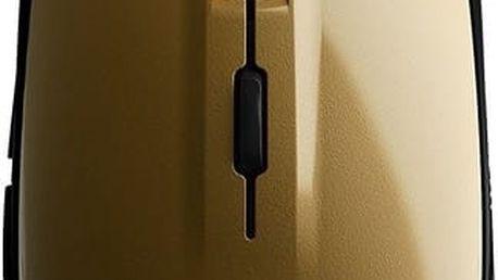 SteelSeries Rival 100, zlatá - 62336 + Podložka pod myš CZC G-Vision Dark v ceně 199,-