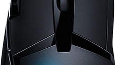 Logitech G402 Hyperion Fury FPS - 910-004067 + Podložka pod myš CZC G-Vision Dark v ceně 199,-