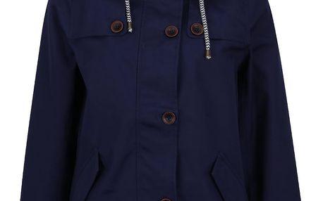 Tmavě modrá dámská nepromovaká bunda Tom Joule