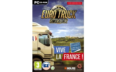 Euro Truck Simulator 2: Vive la France! (PC) - PC - 8592720122664