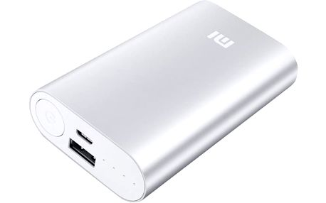 Xiaomi Power Bank 10000 mAh, stříbrná - NDY-02-AN