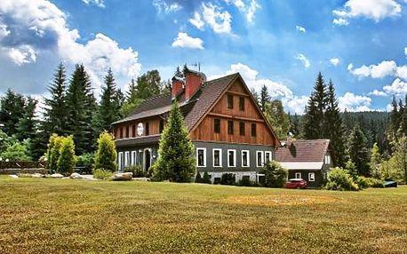 Odpočinek v Jizerských horách včetně polopenze