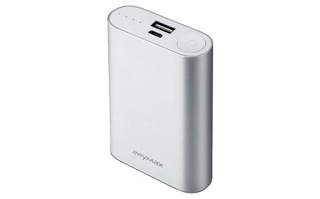 iMyMax X10 Power Bank 10.000mAh, Silver