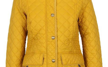 Žlutá prošívaná bunda s kapsami Tom Joule Newdale
