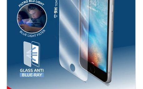 CELLY Glass antiblueray ochranné tvrzené sklo pro Apple iPhone 7 Plus - GLASS801