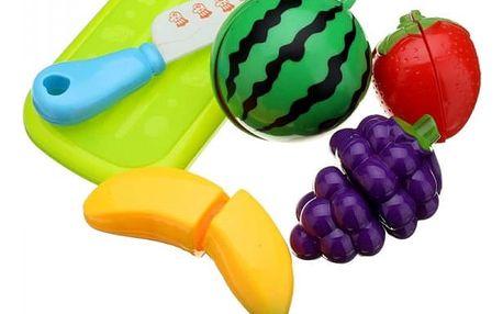 Sada plastových hraček - ovoce - 6 ks