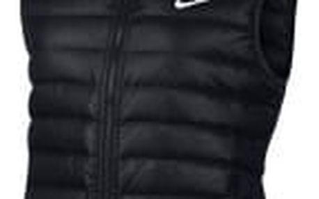 Dámská bunda Nike W NSW DWN FLL VEST BLACK/BLACK/WHITE