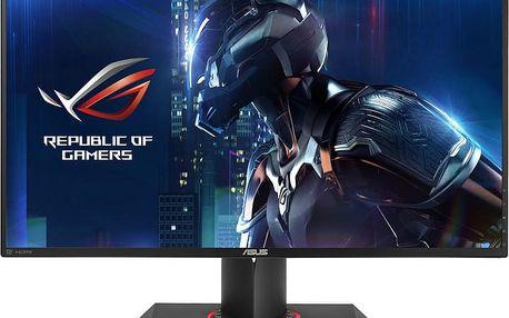 """ASUS ROG SWIFT PG279Q - LED monitor 27"""" - 90LM0230-B01370 + Sluchátka Asus Cerberus iCafe v hodnetě 1399,- k LCD Asus zdarma"""