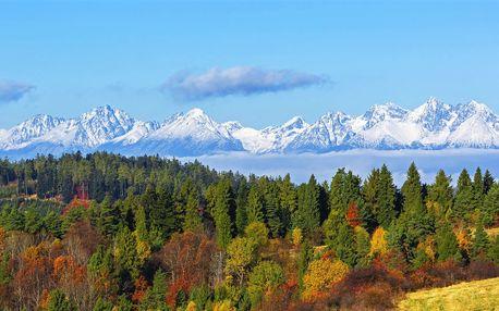 Podzim ve Vysokých Tatrách: polopenze a wellness