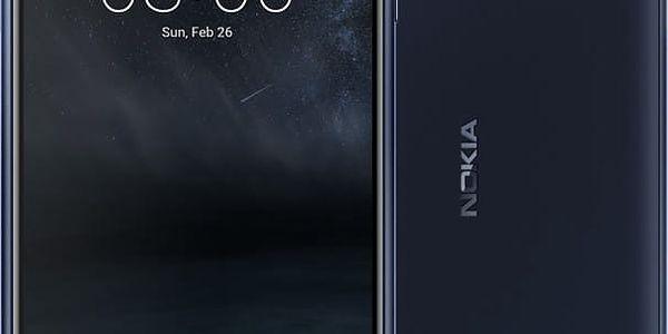 Nokia 3, Dual Sim, modrá