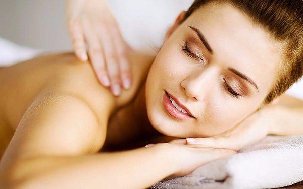 50minutová relaxační masáž dle výběru v centru Prahy