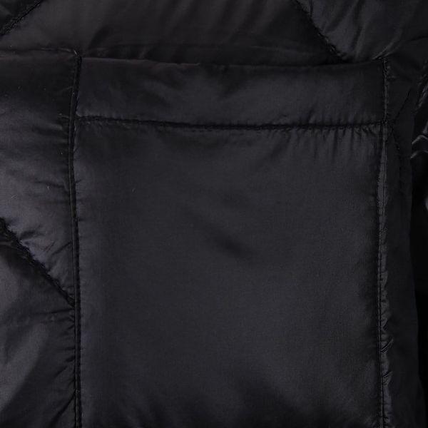 Černá prošívaná bunda s kapsou Noisy May Puffy2