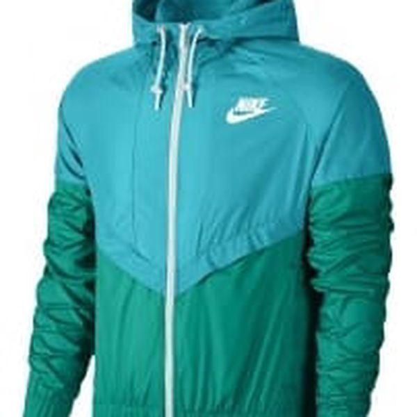 Dámská bunda Nike WINDRUNNER OMEGA BLUE/RIO TEAL/WHITE