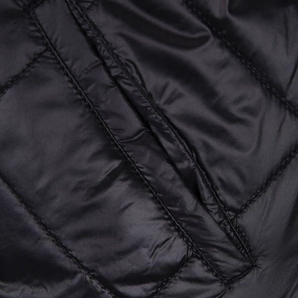 Černá prošívaná bunda s kapsou Noisy May Puffy4