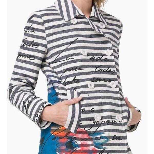 kabát Desigual Abrig Mencía marino