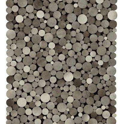Kožený koberec lukas, 130/190 cm