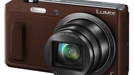Panasonic Lumix DMC-TZ57, hnědá - DMC-TZ57EP-T
