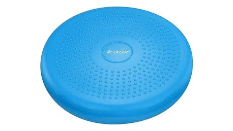 Balanční masážní polštářek Lifefit BALANCE CUSHION 33 cm - modrá