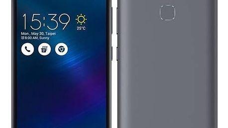 Mobilní telefon Asus ZenFone 3 Max ZC520TL (ZC520TL-4H077WW) šedý SIM s kreditem T-Mobile 200Kč Twist Online Internet (zdarma)Software F-Secure SAFE 6 měsíců pro 3 zařízení (zdarma) + Doprava zdarma