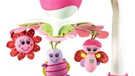 Kolotoč nad postýlku Tiny Love TINY PRINCESS bílý/zelený/růžový + Doprava zdarma