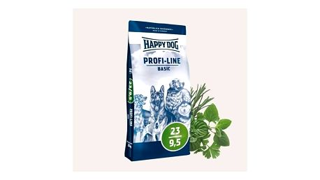 Granule HAPPY DOG Profi-Line BASIC 23/9,5 20 kg + Doprava zdarma