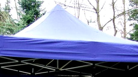 Garthen 733 PROFI Náhradní střecha na zahradní skládací stan 3 x 3 m modrá