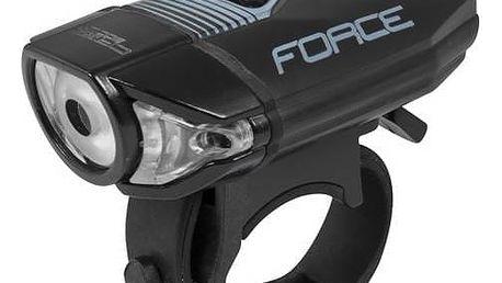 Světlo na kolo Force přední CASS 300LM USB černá