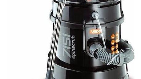 Vysavač víceúčelový VAX Wet&Dry 7151 Multifunction černý + Sáčky do vysavače VAX 1-1-131045-00 v hodnotě 299 Kč + Doprava zdarma