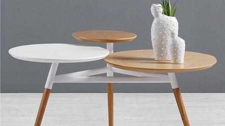 Konferenční stolek ryan, 92,5/50/64 cm