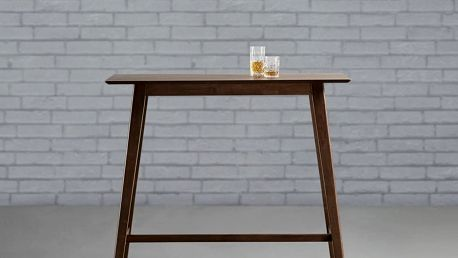 Barový stůl enzo, 120/106,7/45 cm