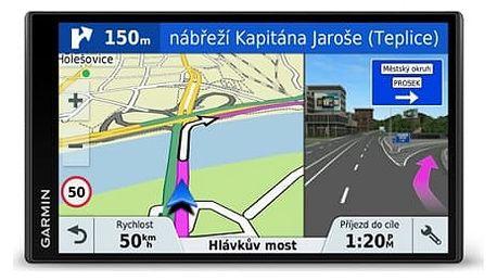 Navigační systém GPS Garmin DriveSmart 61T-D Lifetime Europe45 (010-01681-13) černá