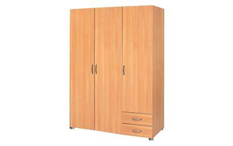 šatní skříň třídveřová 5066 buk Idea