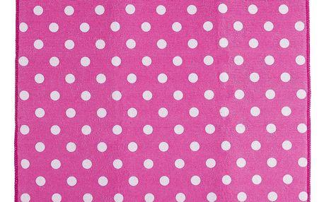 Koopman Podložka na nádobí Ultra růžová, 40 x 48 cm