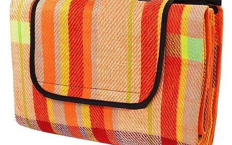 Calter Pikniková deka PARTY, 200x150 cm, barevný proužek