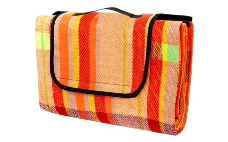 Pikniková deka Calter Party barevný proužek