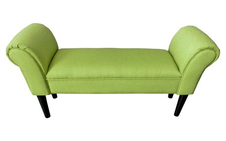 Lavice verde, 102/51/31 cm