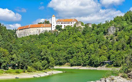 Relaxační dovolená u Vranova pro rodinu či partu