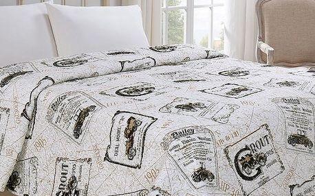 Jahu Přehoz na postel Auto, 220 x 240 cm