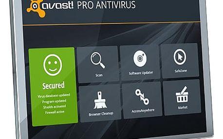 Avast! Pro Antivirus, 1 uživatel (24 měs.) prodloužení - APE8024RRCZ001