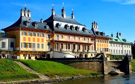 Pirna, pevnost Konigstein a zámek Pillnitz